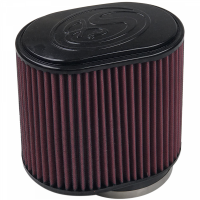 S&B Filters - S&B Filters - Air Filter For Intake Kits 75-5013 Oiled Cotton Cleanable Red S&B - KF-1029