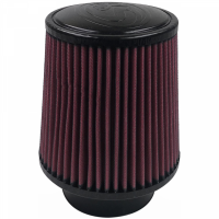 S&B Filters - S&B Filters - Air Filter For Intake Kits 75-5008 Oiled Cotton Cleanable Red S&B - KF-1025