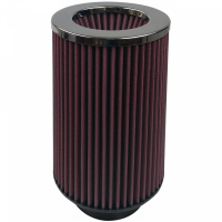S&B Filters - S&B Filters - Air Filter For Intake Kits 75-2556-1 Oiled Cotton Cleanable Red S&B - KF-1024