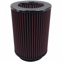 S&B Filters - S&B Filters - Air Filter For Intake Kits 75-1518 Oiled Cotton Cleanable Red S&B - KF-1021