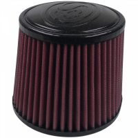 S&B Filters - S&B Filters - Air Filter For Intake Kits 75-5004 Oiled Cotton Cleanable Red S&B - KF-1019-1