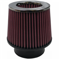 S&B Filters - S&B Filters - Air Filter For Intake Kits 75-1534,75-1533 Oiled Cotton Cleanable Red S&B - KF-1017