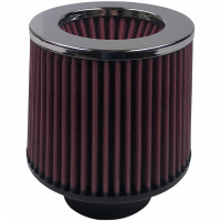 S&B Filters - S&B Filters - Air Filter For Intake Kits 75-1515-1,75-9015-1 Oiled Cotton Cleanable Red S&B - KF-1011
