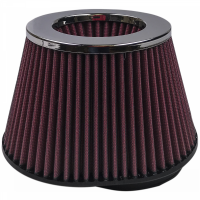 S&B Filters - S&B Filters - Air Filter For Intake Kits 75-3026 Oiled Cotton Cleanable Red S&B - KF-1009
