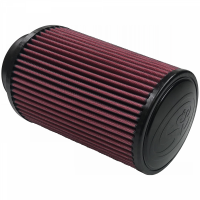 S&B Filters - S&B Filters - Air Filter For Intake Kits 75-2530 Oiled Cotton Cleanable Red S&B - KF-1006