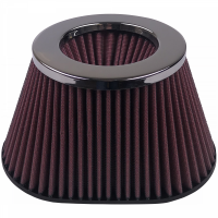 S&B Filters - S&B Filters - Air Filter For Intake Kits 75-3011 Oiled Cotton Cleanable Red S&B - KF-1005