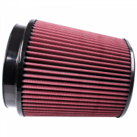 S&B Filters - S&B Filters - Air Filter for Competitor Intakes AFE XX-91053 Oiled Cotton Cleanable Red S&B - CR-91053