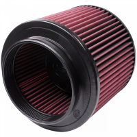 S&B Filters - S&B Filters - Air Filter for Competitor Intakes AFE XX-91046 Oiled Cotton Cleanable Red S&B - CR-91046