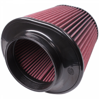S&B Filters - S&B Filters - Air Filter for Competitor Intakes AFE XX-91044 Oiled Cotton Cleanable Red S&B - CR-91044