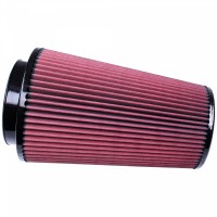 S&B Filters - S&B Filters - Air Filter for Competitor Intakes AFE XX-91036 Oiled Cotton Cleanable Red S&B - CR-91036