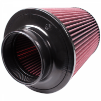 S&B Filters - S&B Filters - Air Filter for Competitor Intakes AFE XX-91002 Oiled Cotton Cleanable Red S&B - CR-91002