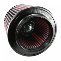 S&B Filters - S&B Filters - Air Filter for Competitor Intakes AFE XX-90038 Oiled Cotton Cleanable Red S&B - CR-90038