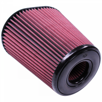 S&B Filters - S&B Filters - Air Filter for Competitor Intakes AFE XX-90037 Oiled Cotton Cleanable Red S&B - CR-90037