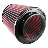 S&B Filters - S&B Filters - Air Filter for Competitor Intakes AFE XX-90021 Oiled Cotton Cleanable Red S&B - CR-90021