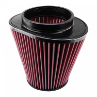 S&B Filters - S&B Filters - Air Filter for Competitor Intakes AFE XX-90020 Oiled Cotton Cleanable Red S&B - CR-90020