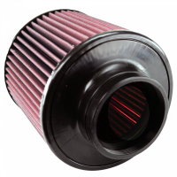 S&B Filters - S&B Filters - Air Filter for Competitor Intakes AFE XX-90008 Oiled Cotton Cleanable Red S&B - CR-90008