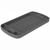 Shop By Part - Gear & Apparel - S&B Filters - S&B Filters - Tool Tray Silicone Large Color Charcoal S&B - 80-1004L