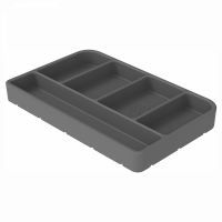 Shop By Part - Gear & Apparel - S&B Filters - S&B Filters - Tool Tray Silicone Small Color Charcoal S&B - 80-1004S