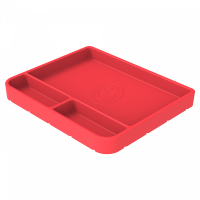 Shop By Part - Gear & Apparel - S&B Filters - S&B Filters - Tool Tray Silicone Medium Color Pink S&B - 80-1003M
