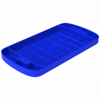 Shop By Part - Gear & Apparel - S&B Filters - S&B Filters - Tool Tray Silicone Large Color Blue S&B - 80-1002L