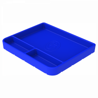 Shop By Part - Gear & Apparel - S&B Filters - S&B Filters - Tool Tray Silicone Medium Color Blue S&B - 80-1002M