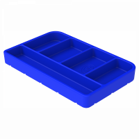 Shop By Part - Gear & Apparel - S&B Filters - S&B Filters - Tool Tray Silicone Small Color Blue S&B - 80-1002S