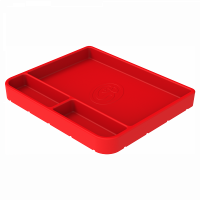 Shop By Part - Gear & Apparel - S&B Filters - S&B Filters - Tool Tray Silicone Medium Color Red S&B - 80-1001M