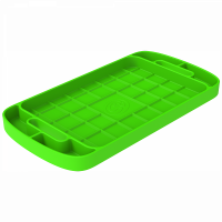 Shop By Part - Gear & Apparel - S&B Filters - S&B Filters - Tool Tray Silicone Large Color Lime Green S&B - 80-1000L