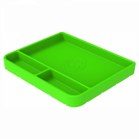 Shop By Part - Gear & Apparel - S&B Filters - S&B Filters - Tool Tray Silicone Medium Color Lime Green S&B - 80-1000M