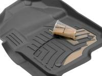 Weathertech - Weathertech 3D Floor Mats - Front - Tan, Extended Cab Pickup/ Crew Cab Pickup 4510121IM