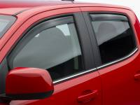 Exterior - Window Vents & Visors - Weathertech - Weathertech Side Window Deflector - 4 pc. - Dark Tint 82766