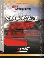 Shop By Part - Gear & Apparel - Edge Products - Edge Products EFI University Diesel Engine Performance Tuning DVD 99010