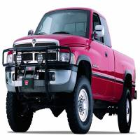Exterior - Grille Guards & Bull Bars - Warn - Warn Powder Coated Black Without Brush Guard Without Skid Plate Without Step Plate 30092