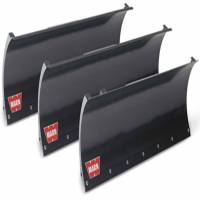 Unused - Snow Plow Parts - Warn - Warn ATV/UTV 50 Inch Straight Blade 16-3/4 Inch Height Black 78950