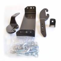 Unused - Snow Plow Parts - Warn - Warn Center Kit Black Includes Mounting Bracket and Hardware 64669