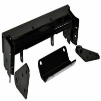 Unused - Snow Plow Parts - Warn - Warn Front Kit Black Includes Mounting Bracket and Hardware 79403