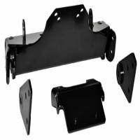 Unused - Snow Plow Parts - Warn - Warn Front Kit Black Includes Mounting Bracket and Hardware 80545