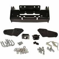 Unused - Snow Plow Parts - Warn - Warn Front Kit Black Includes Mounting Bracket and Hardware 84354