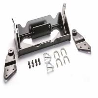 Unused - Snow Plow Parts - Warn - Warn Front Kit Black Includes Mounting Bracket and Hardware 90855