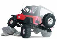 Warn - Warn Mounts to 62947 Rear Bumper; Up to 37 Inch Tire; Black; Steel; Direct-Fit 63253 - Image 3