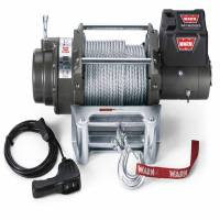Winches & Recovery - Winches - Warn - Warn 12 Volt Elect 12000 LB Cap 125 Ft Rope Roller Fairlead Wired Remote 17801