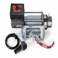 Warn - Warn 12 Volt 8000 LB Cap 100 Ft Wire Rope Roller Fairlead 26502
