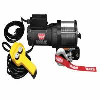Warn - Warn Portable Utility Winch 120 Volt 1000 LB Cap 43 Ft Wire Rope 80010