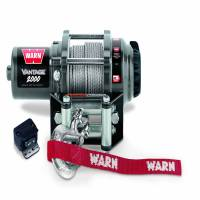 Winches & Recovery - Winches - Warn - Warn 12 Volt DC Battery 2000 LB Cap 50 Ft Wire Rope 89020