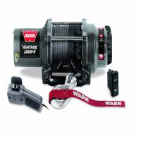 Winches & Recovery - Winches - Warn - Warn 12 Volt DC Battery 4000 LB Cap 50 Ft Synthetic Rope 89041