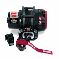Winches & Recovery - Winches - Warn - Warn 12 Volt DC Battery 2500 LB Cap 50 Ft Synthetic Rope 90251