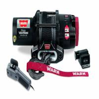 Winches & Recovery - Winches - Warn - Warn 12 Volt DC Battery 3500 LB Cap 50 Ft Synthetic Rope 90351