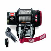 Winches & Recovery - Winches - Warn - Warn 12 Volt DC Battery 4500 LB Cap 55 Ft Wire Rope 90450