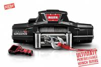 Warn - Warn 12 Volt Two 16 amp Accessory Ports 10000 LB Cap 80 Ft Wire Rope 92810