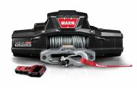 Warn - Warn 12 Volt Two 16 amp Accessory Ports 12000 LB Cap 80 Ft Spydura Synthetic Rope 95960